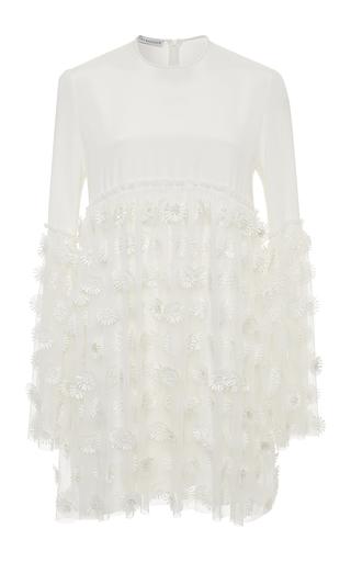 Medium kalmanovich white short dress with daisies