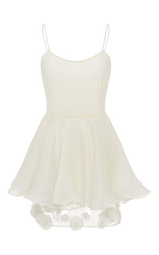 Medium kalmanovich white short organza dress