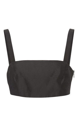 Medium kalmanovich black bra top with straps