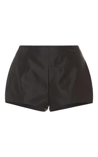 Medium kalmanovich black high waist short