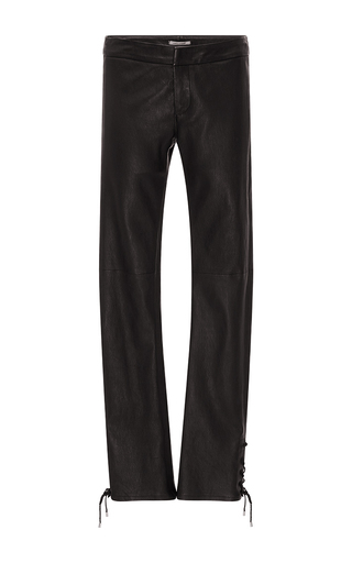 Medium hellessy black nero slim leather pant
