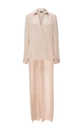 Medium hellessy pink anatoli silk blouse