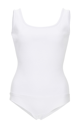 Medium houghton white babine bodysuit