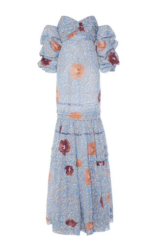 Medium johanna ortiz blue dama de las camelias dress