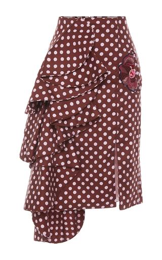 Medium johanna ortiz burgundy isabel allende skirt