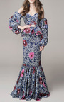 One Hundred Years Of Solitude Dress by JOHANNA ORTIZ Now Available on Moda Operandi