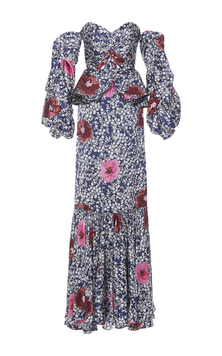 Medium johanna ortiz blue one hundred years of solitude dress