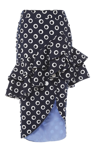 Medium johanna ortiz blue gabriela mistral skirt