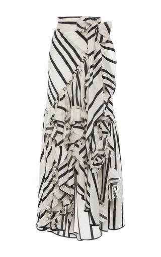 Medium johanna ortiz white duncan skirt