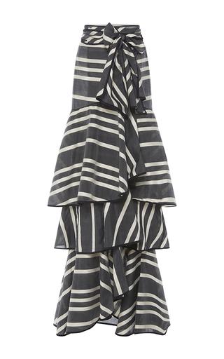 Medium johanna ortiz black montesquieu skirt