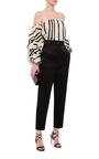 Cotton Silk Striped Frida Top by JOHANNA ORTIZ Now Available on Moda Operandi
