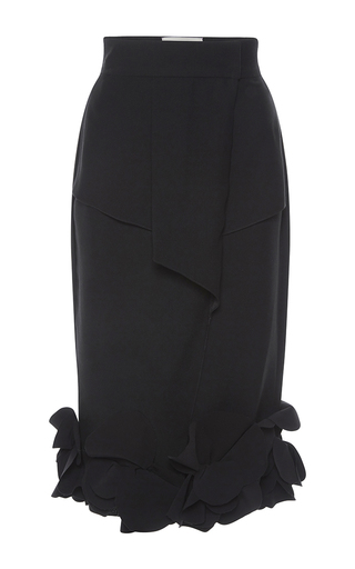 Medium johanna ortiz black el perfume skirt