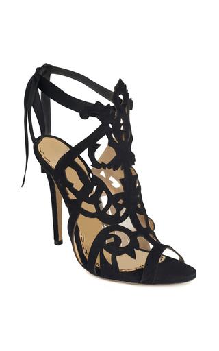 Medium marchesa black black suede jessica sandal