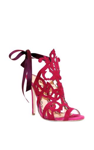 Medium marchesa pink fuschia suede jssica sandal