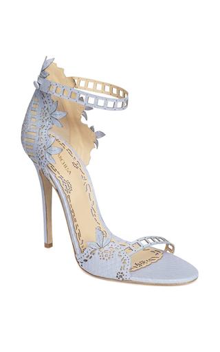 Medium marchesa blue dusty blue elpahe margeret sandal