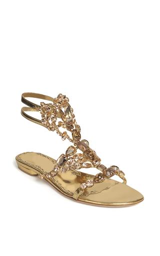 Medium marchesa metallic rose gold emily sandal