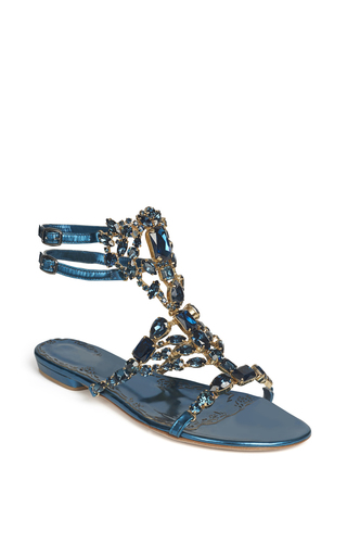 Medium marchesa navy navy emily sandal