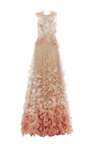 Medium marchesa pink petal skirt ball gown