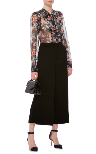 Wide Legged Culottes by PRABAL GURUNG Now Available on Moda Operandi