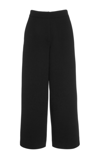 Medium prabal gurung black wide legged culottes