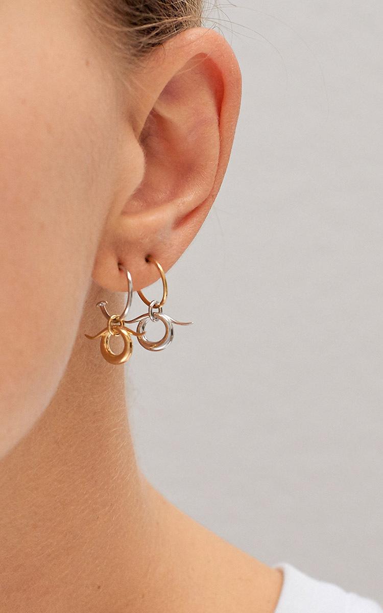 Charlotte Chesnais Mini Horn Earring Unit qZCrx6p8