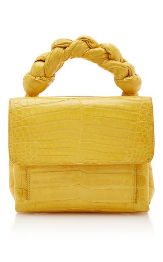 Medium nancy gonzalez yellow knotted handle lady cross body