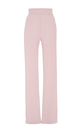 Medium brandon maxwell light pink blush long cigarette trouser