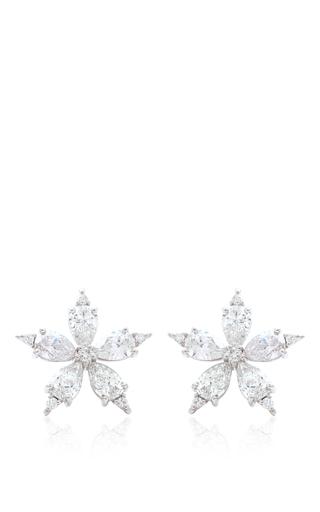 Medium paul morelli silver star anise stud earrings