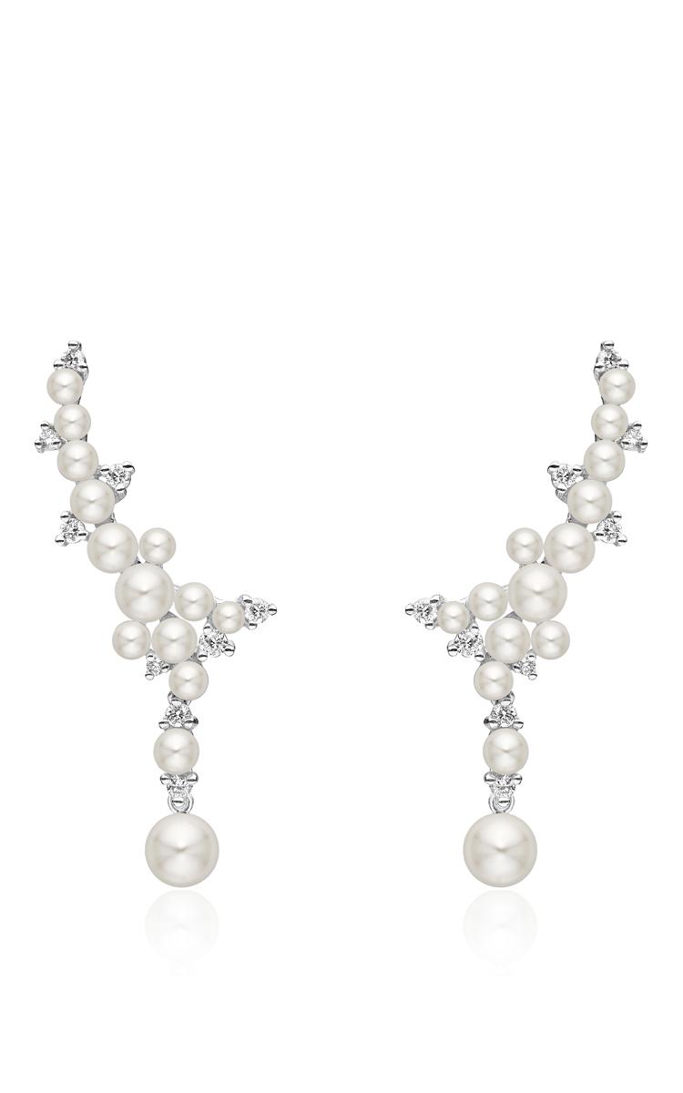 Women Paul Morelli Lagrange Pearl Trellis Earrings Close Loading