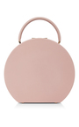 Calf Leather Ash Rose Bumi Mini 22cm Top Handle Bag by BUWOOD Now Available on Moda Operandi