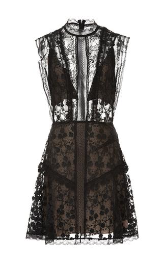 Medium alexis black mily short dress