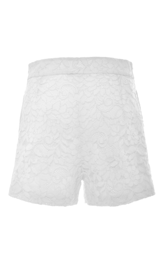 Medium alexis white dean shorts
