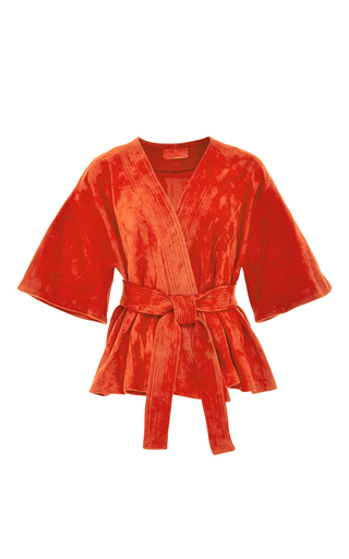 Medium alexis red anastacia jacket