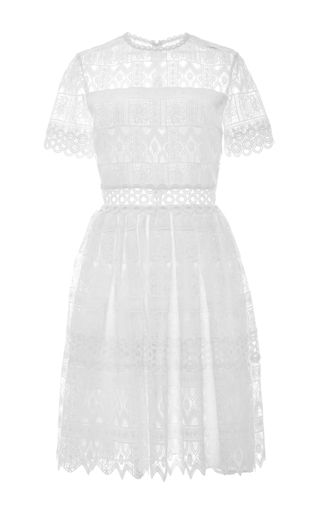 Medium alexis white lula dress
