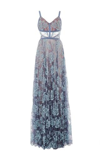 Medium alexis light blue isabella gown