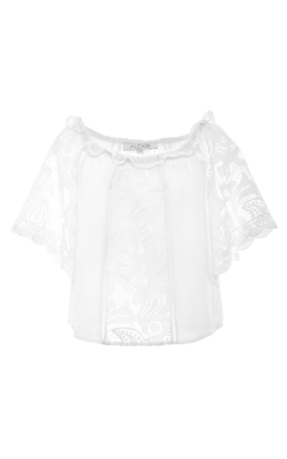 Medium alexis white hee top