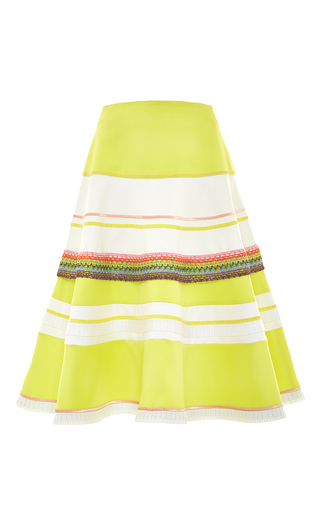 Medium alexis green carlotta skirt