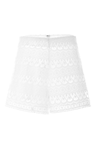 Medium alexis white estee shorts