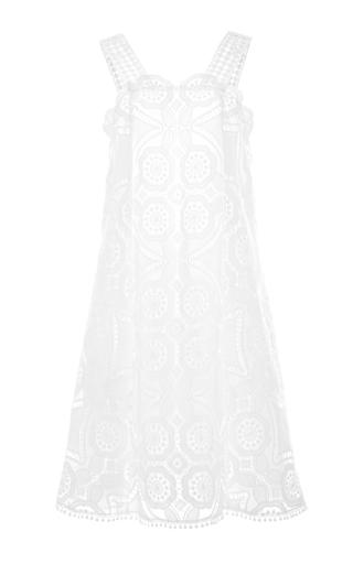 Medium alexis white iva dress