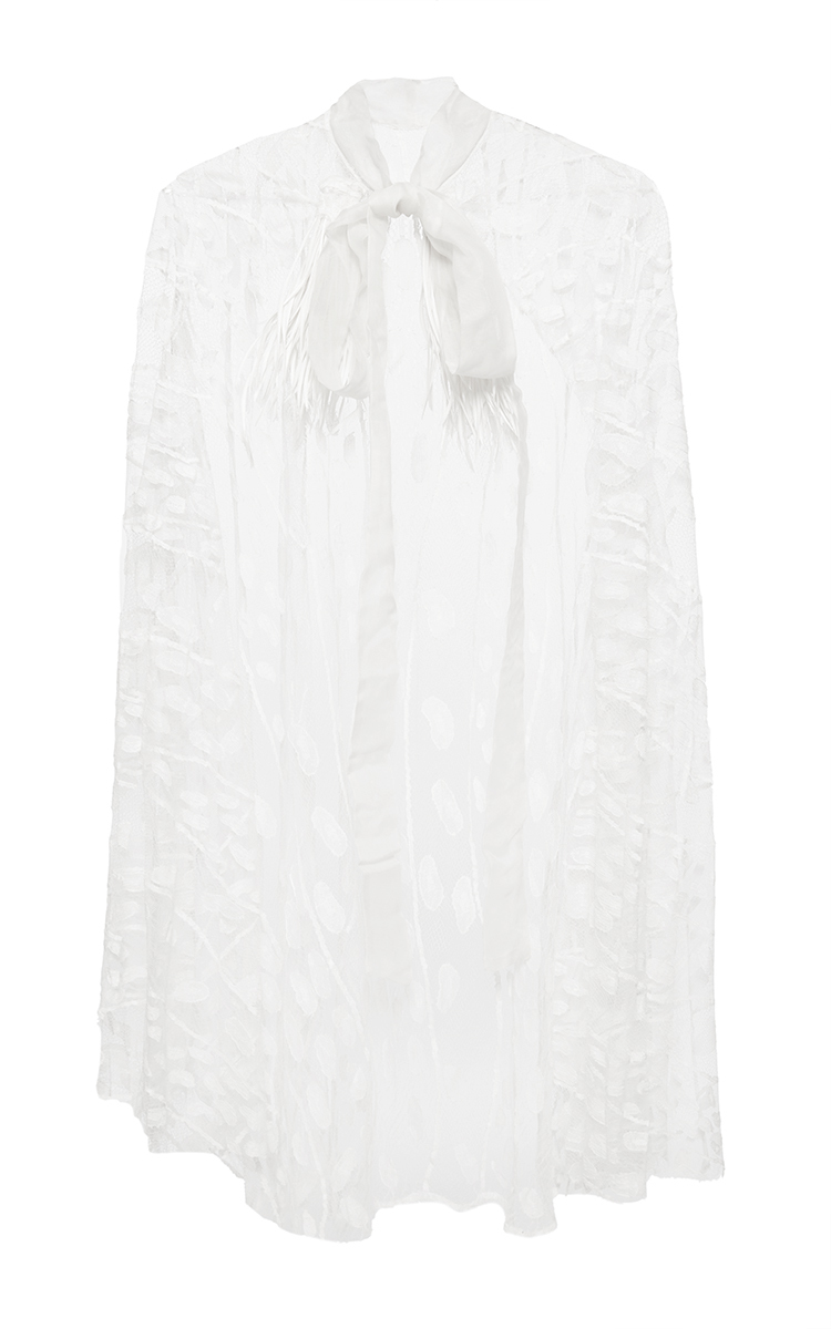 Anja Couture Cape By Sophie Theallet Moda Operandi White Top