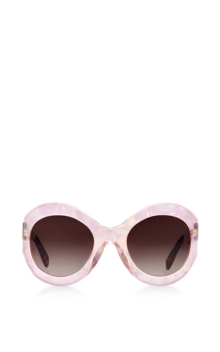 Medium zanzan pink le tabou sunglasses