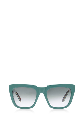 Medium zanzan green apache sunglasses