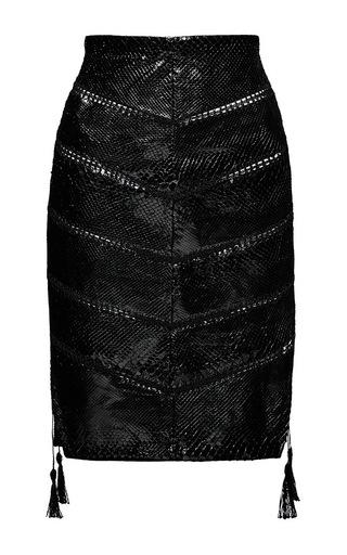 Medium magda butrym black alexandria skirt