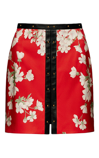 Medium magda butrym red goiania skirt