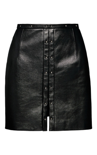 Medium magda butrym black brasilia skirt