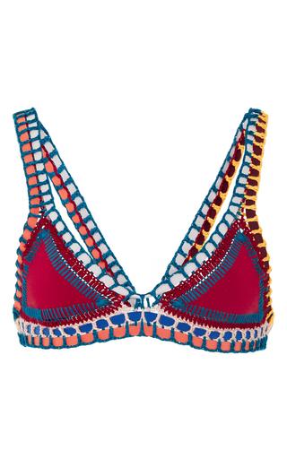Medium kiini red soley classic bikini top