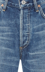 Parker Relaxed Selvedge Cuffed Cropped Mid Rise Jeans by CITIZENS OF HUMANITY Now Available on Moda Operandi