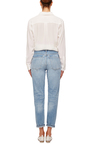 Liya High Rise Distressed Classic Fit Jeans by CITIZENS OF HUMANITY Now Available on Moda Operandi