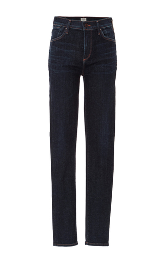 Medium citizens of humanity dark wash carlie high rise sculpt skinny jeans