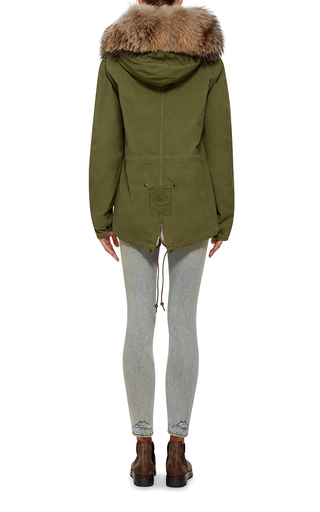 Shearling Mini Parka by MR & MRS ITALY Now Available on Moda Operandi
